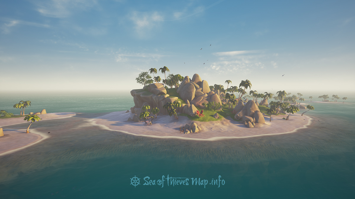 Sea Of Thieves Map - Adventure Island - Sailor's Bounty