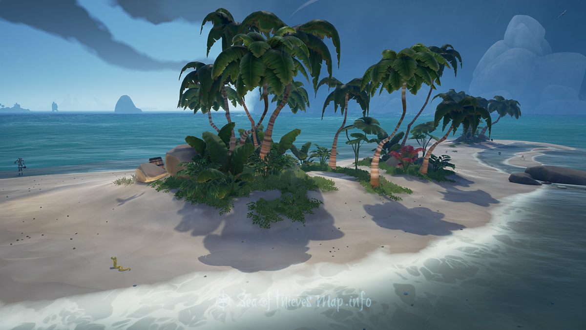 Sea Of Thieves Map - Adventure Island - Lonely Isle