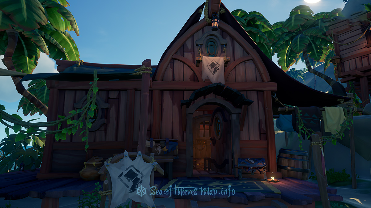 Sea Of Thieves Map - Plunder Outpost - Clothing Shop