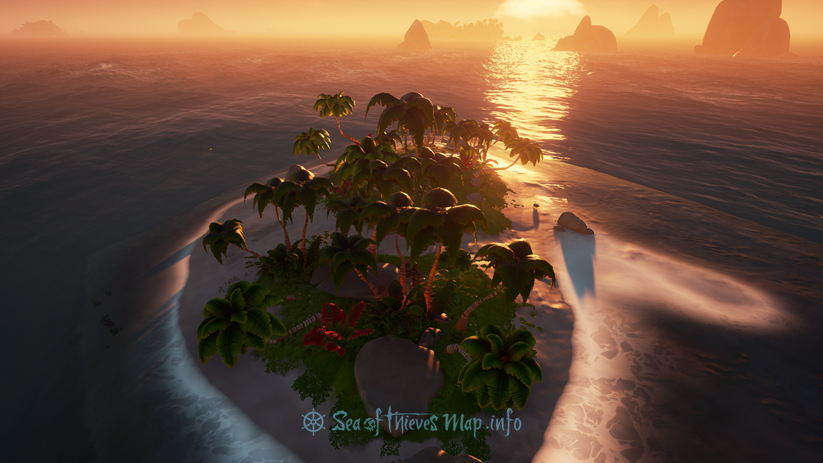 Sea Of Thieves Map - Adventure Island - Rum Runner Isle