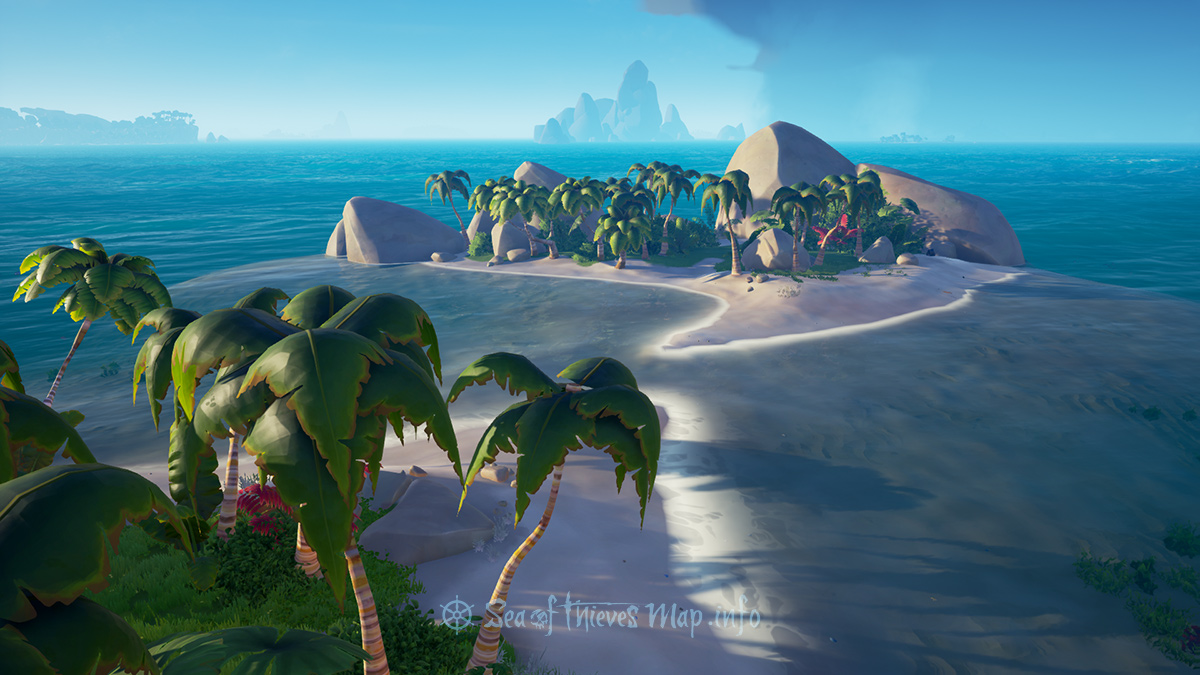 Sea Of Thieves Map - Adventure Island - Twin Groves