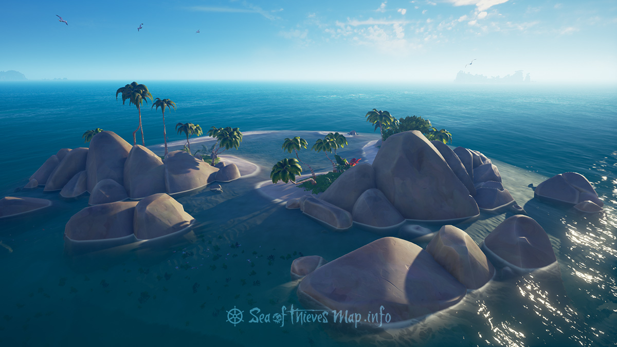 Sea Of Thieves Map - Adventure Island - Lagoon Of Whispers