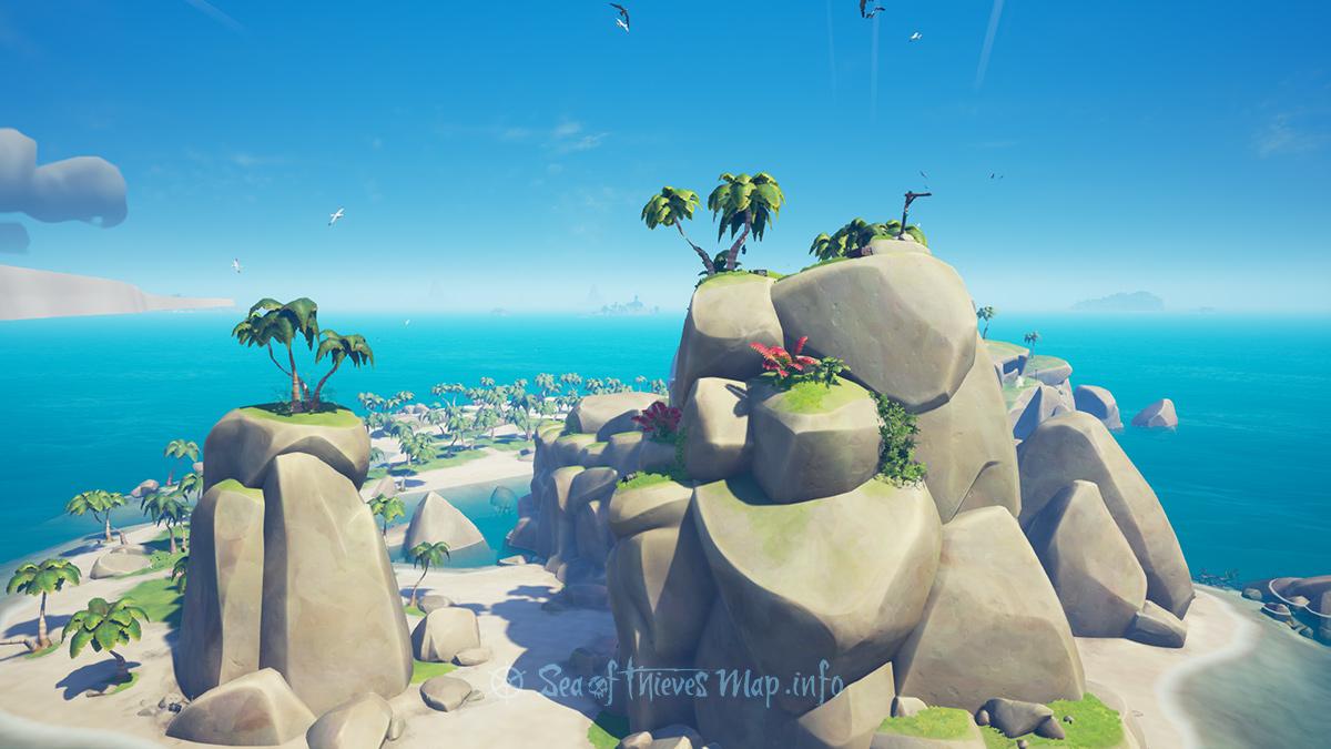 Sea Of Thieves Map - Adventure Island - Mermaid's Hideaway
