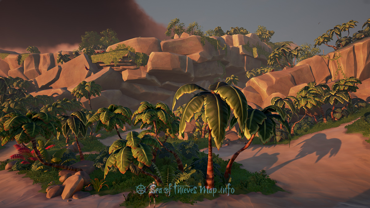 Sea Of Thieves Map - Adventure Island - Plunder Valley