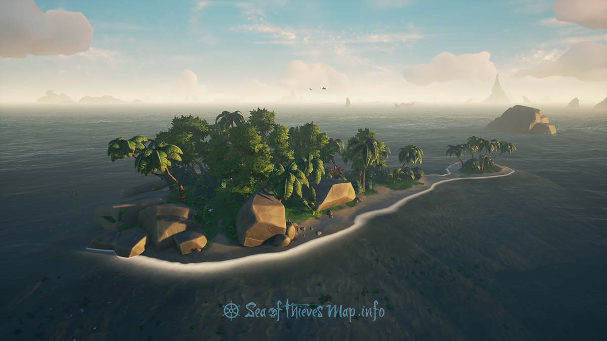 Sea Of Thieves Map - Adventure Island - Chicken Isle