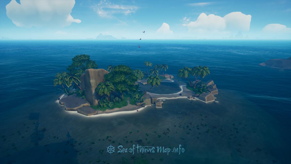 Sea Of Thieves Map - Adventure Island - Fools Lagoon