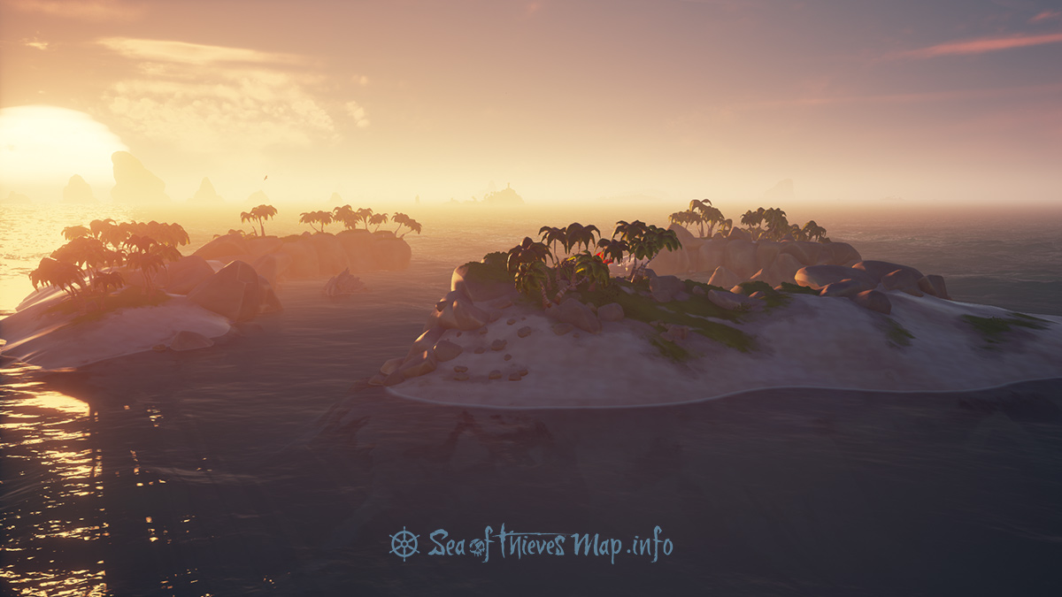 Sea Of Thieves Map - Uncharted Island North - Uncharted Island