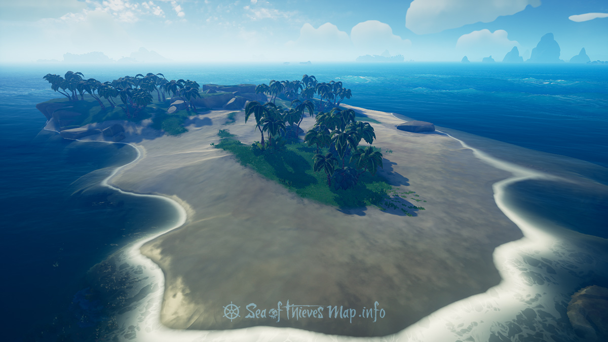 Sea Of Thieves Map - Uncharted Island West - Uncharted Island