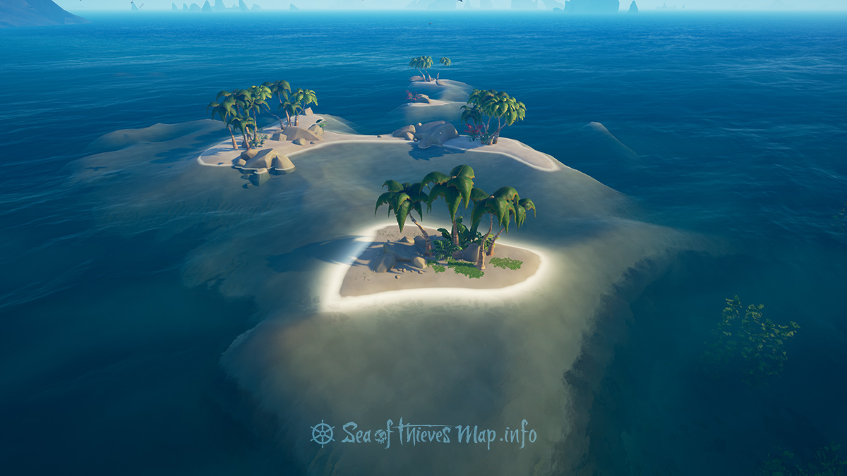 Sea Of Thieves Map - Uncharted Island East - Uncharted Island
