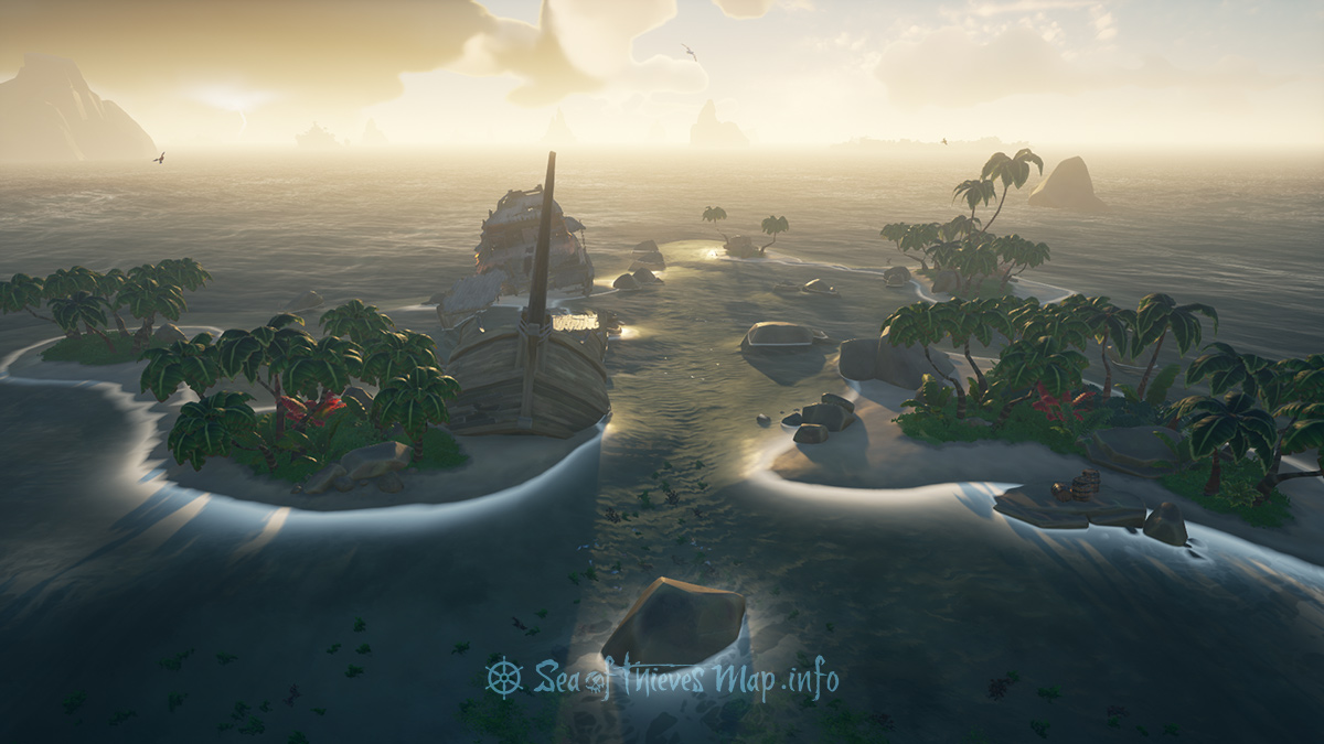 Sea Of Thieves Map - Adventure Island - Old Salts Atoll