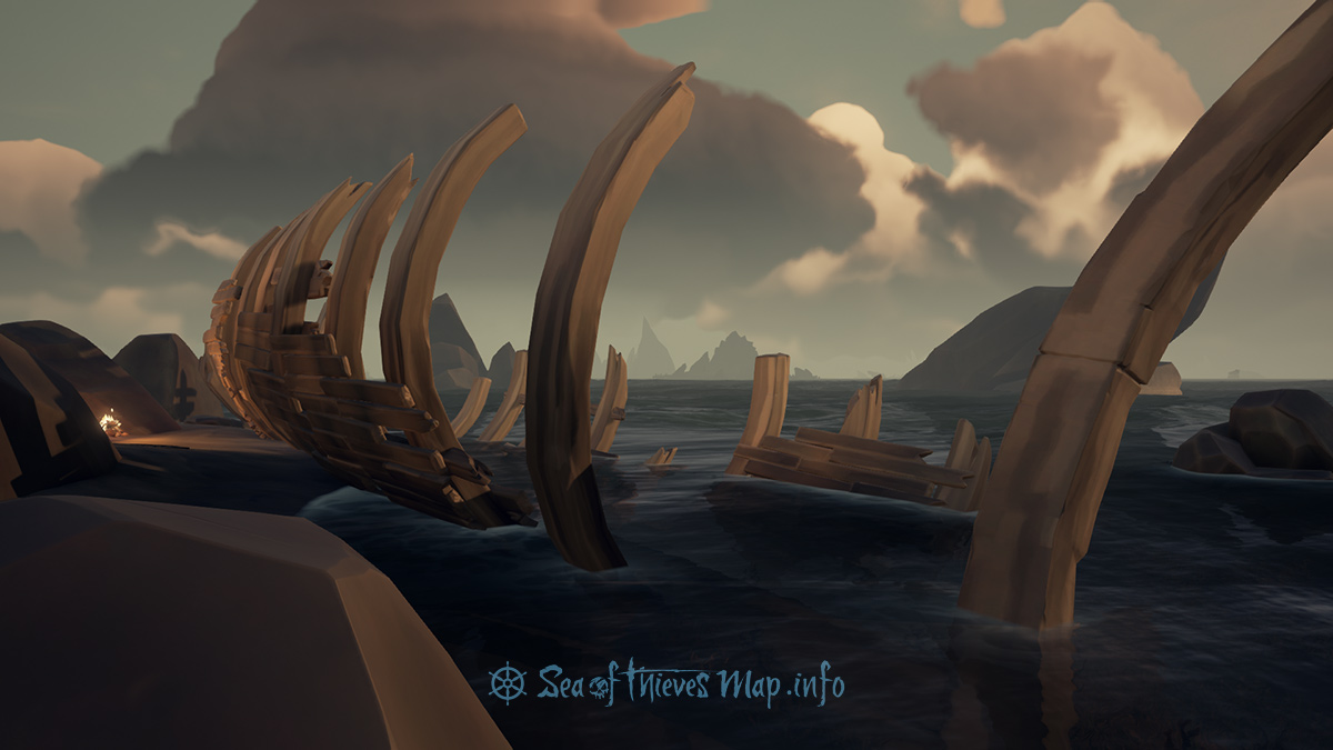 Sea Of Thieves Map - Shipwreck - Landmark