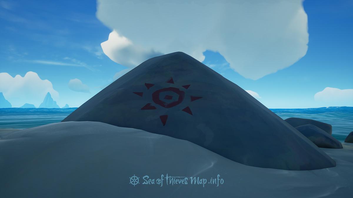 Sea Of Thieves Map - Sun Rock Art - Landmark
