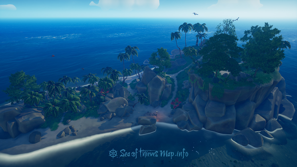 Sea Of Thieves Map - Adventure Island - Lookout Point