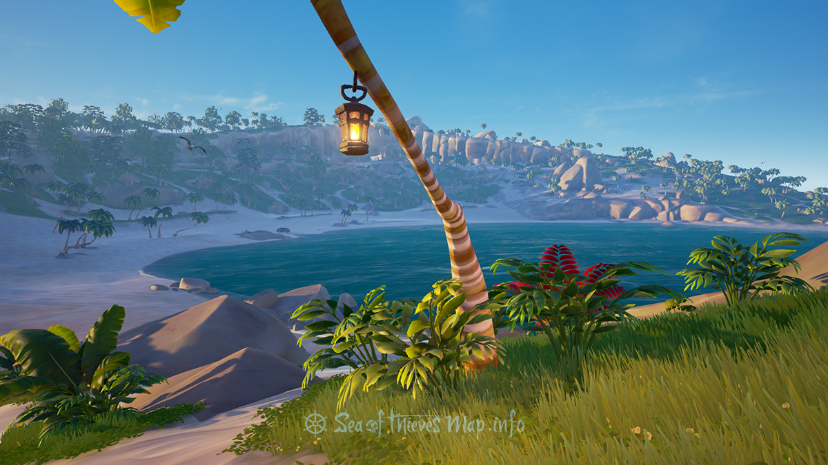 Sea Of Thieves Map - Lantern Tree - Landmark