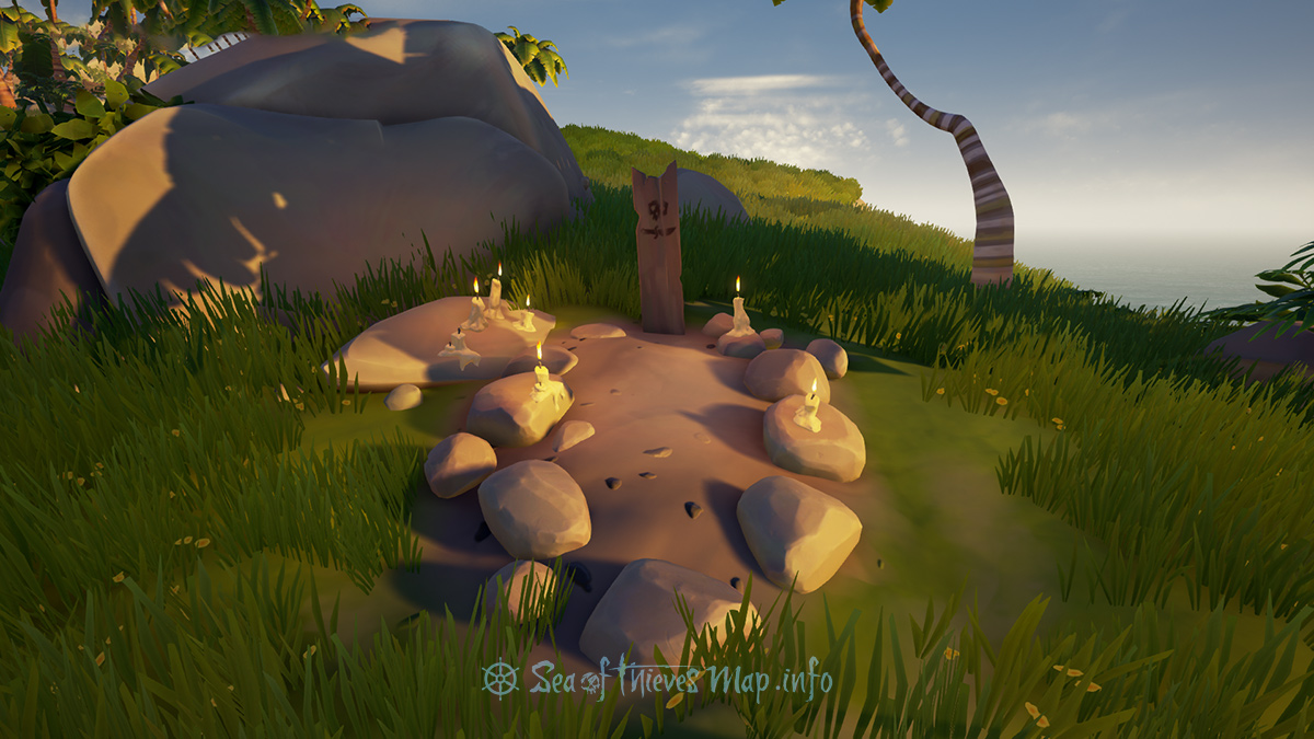 Sea Of Thieves Map - Grave - Landmark