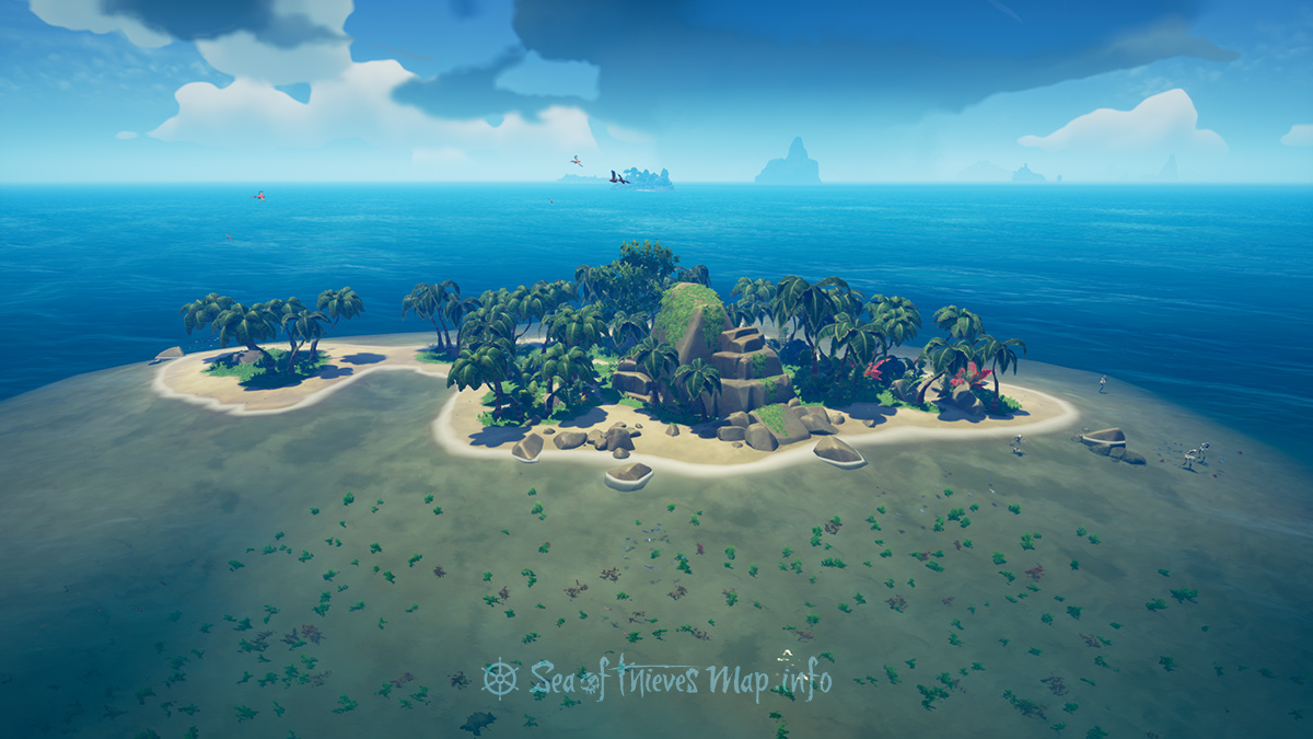Sea Of Thieves Map - Adventure Island - Booty Isle