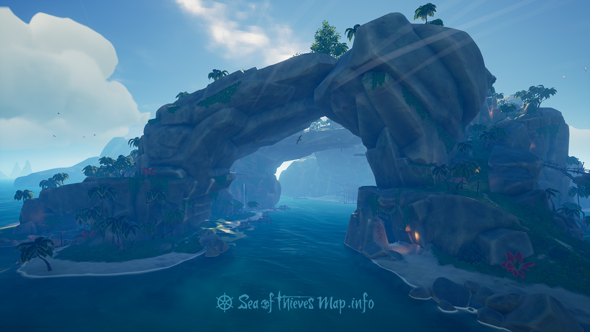 Sea Of Thieves Map - Adventure Island - Thieves' Haven