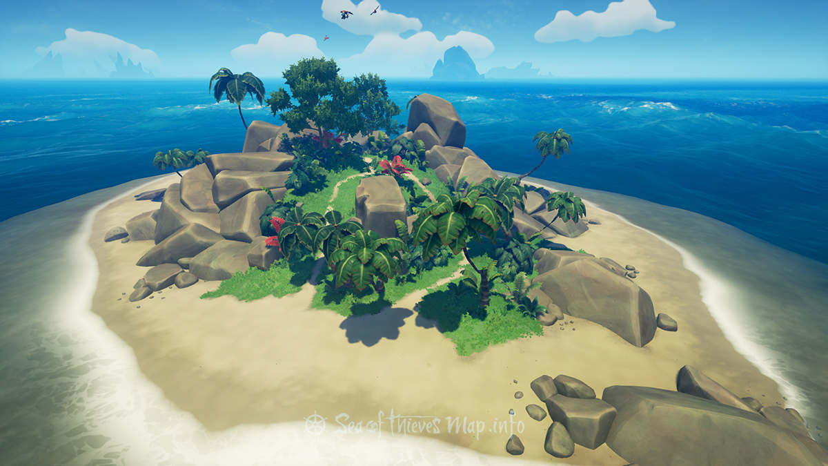 Sea Of Thieves Map - Adventure Island - Barnacle Cay