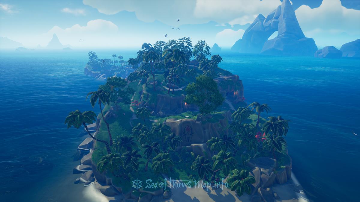 Sea Of Thieves Map - Adventure Island - Snake Island