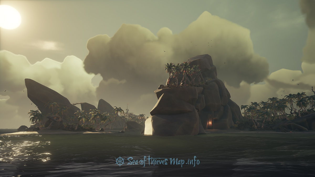 Sea Of Thieves Map - Adventure Island - Shipwreck Bay