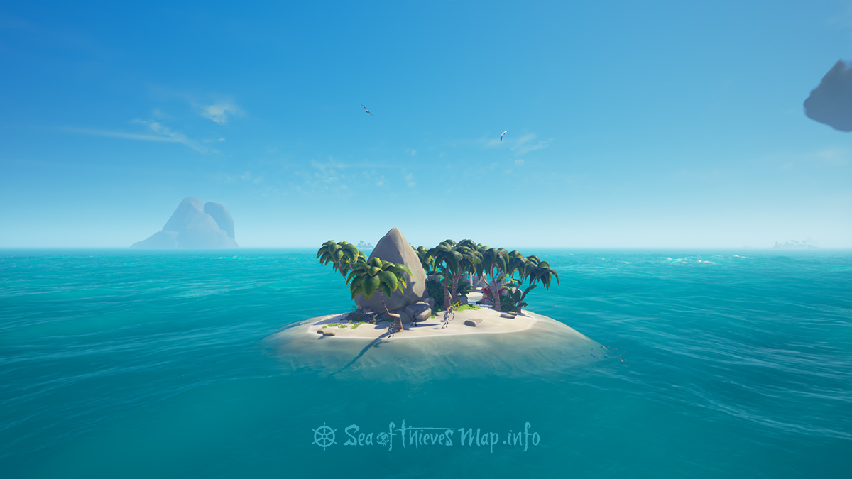 Sea Of Thieves Map - Adventure Island - Boulder Cay