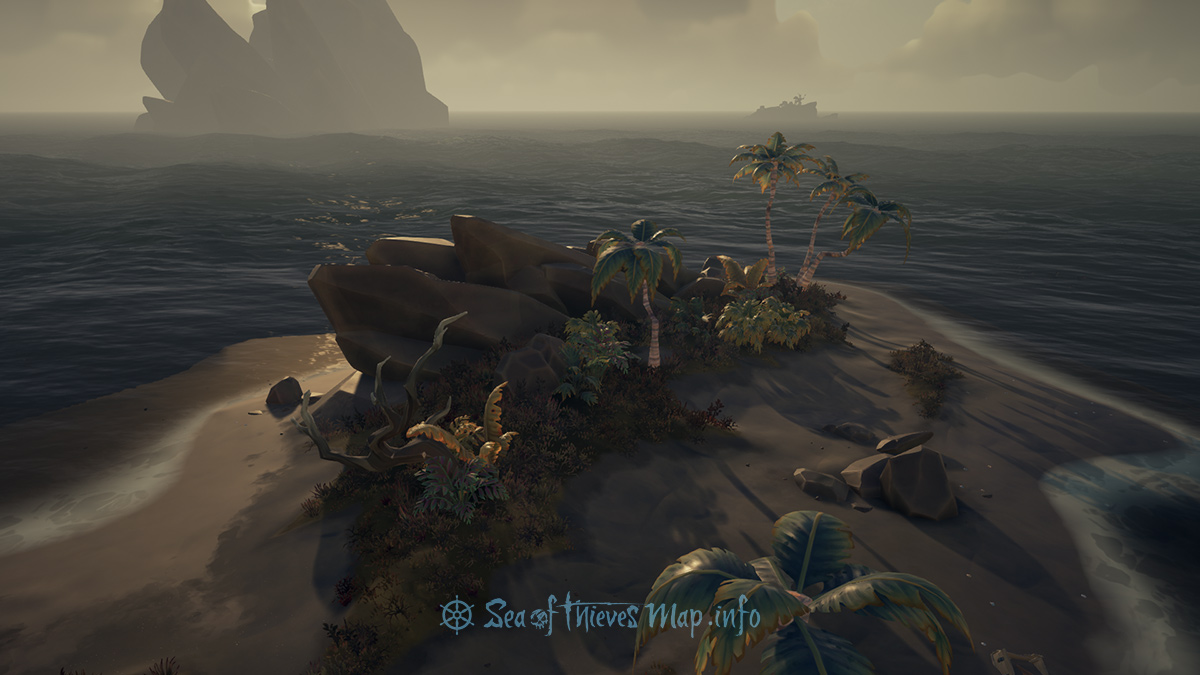 Sea Of Thieves Map - Adventure Island - Tri-Rock Isle