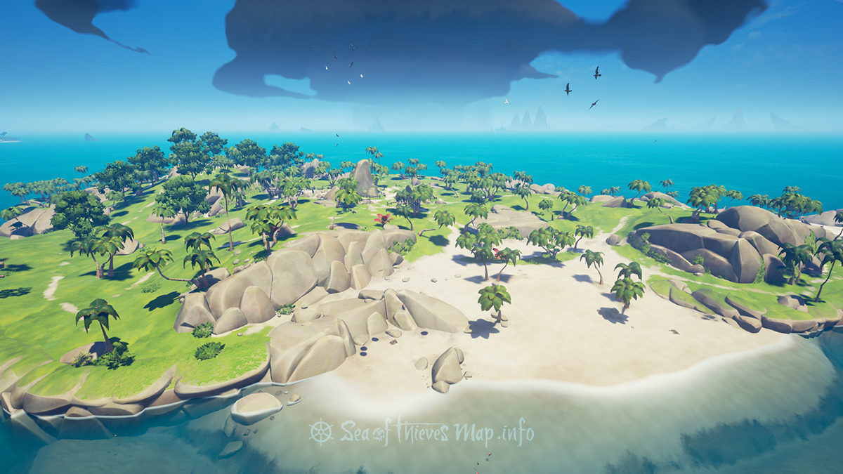 Sea Of Thieves Map - Adventure Island - Lone Cove