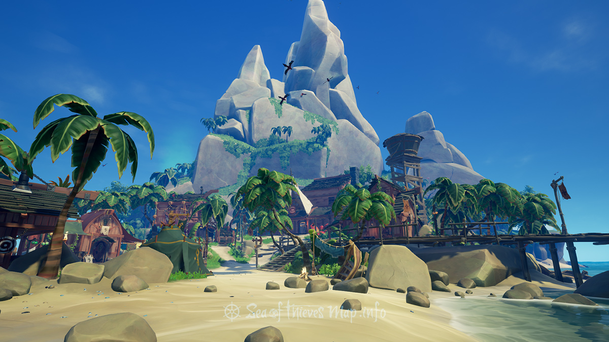 Sea Of Thieves Map - Outpost Island - Plunder Outpost